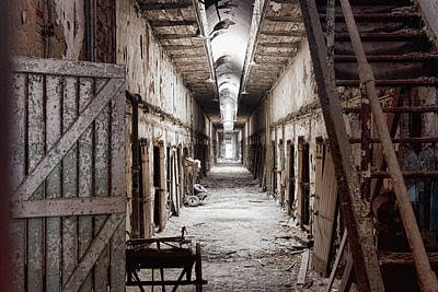 Photograph - Cell Block Seven by Michael Dorn