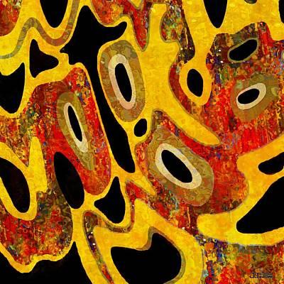 Cell Core 1 Art Print by Jann Paxton