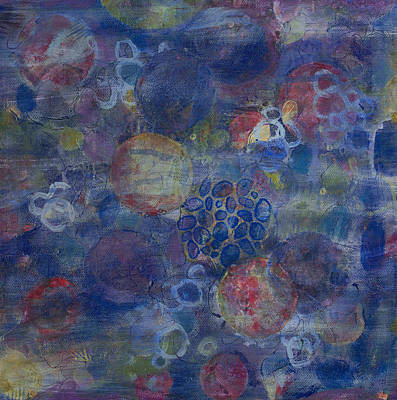 Organisms Painting - Cell No.21 by Angela Canada-Hopkins