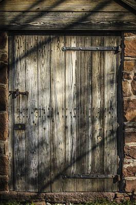 Photograph - Cellar Door 2 by Bradley Clay