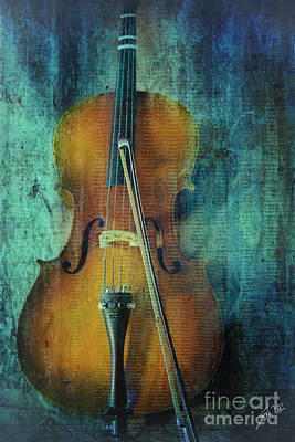 Cello  Art Print by Erika Weber