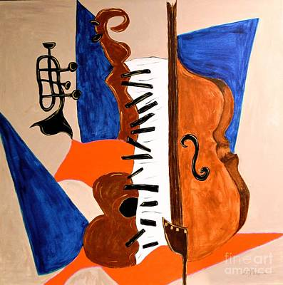Cello II Original by Shirley Barone