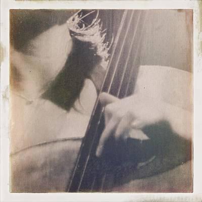 Cello Wall Art - Photograph - Cello Player by H James Hoff