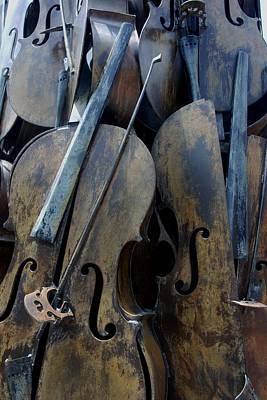Cellos4 Art Print