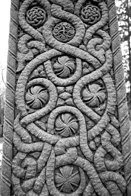 Concord Ma Photograph - Celtic Cross by Allan Morrison