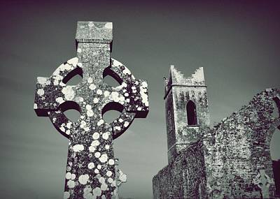 Photograph - Celtic Cross And Castle by Patricia Strand
