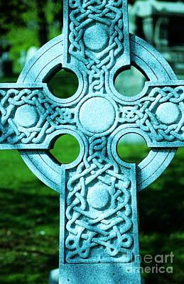 Celtic Cross Art Print by Kathleen Struckle