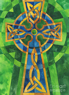 Celtic Cross Original by Mark Jennings