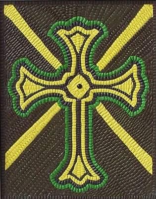 Celtic Cross Print by Paul London