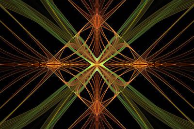 Digital Art - Celtic Diamond by Sandy Keeton