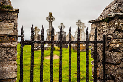 Photograph - Celtic Graveyard by Craig Brown