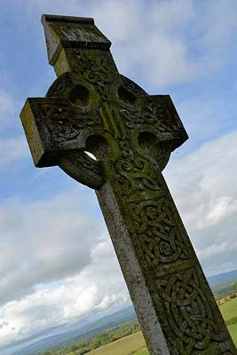 Photograph - Celtic Knot Cross by Nadalyn Larsen