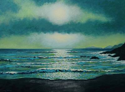 Perspective Painting - Celtic Twilight by John  Nolan