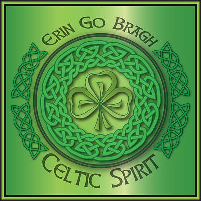 Digital Art - Celtic Spirit by Ireland Calling