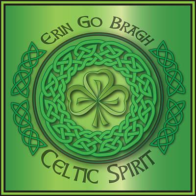 Celtic Spirit Art Print