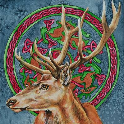 Celtic Stag Original
