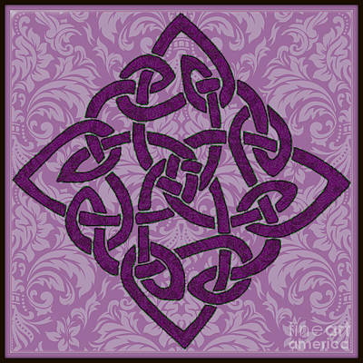 Digital Art - Celtic Wedding Knott by Mindy Bench