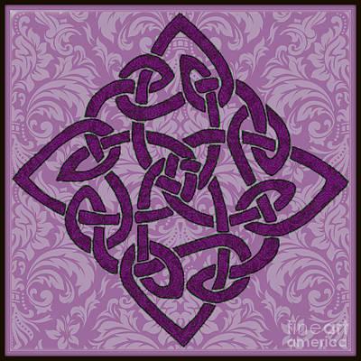 Digital Art - Celtic Wedding Knott by Mindy Bench