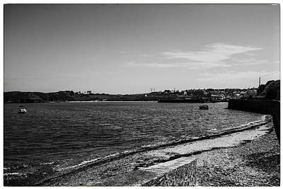 Porth Wen Photograph - Cemaes Bay Bw by Georgia Fowler