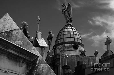 Photograph - Cementario Recoleta Buenos Aires Argentina by Bob Christopher