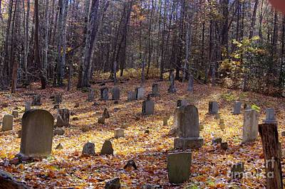 Photograph - Cemetery 1 by Crystal Nederman