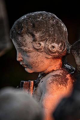 Photograph - Cemetery Cherub #2 - Hvar Croatia by Stuart Litoff