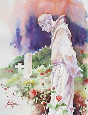Dolores Painting - Cemetery Gardens by John Dougan