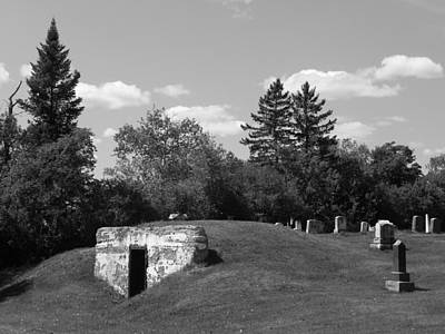 Photograph - Cemetery by Gene Cyr