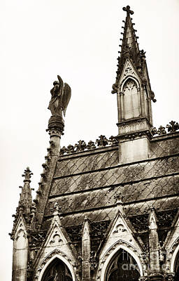 Cemeteries Of Paris Photograph - Cemetery Guardian by John Rizzuto