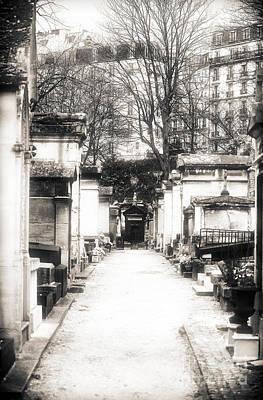 Cemetery Haze Print by John Rizzuto