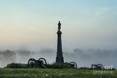 Volunteer Infantry Photograph - Cemetery Hill Gettysburg  by John Greim