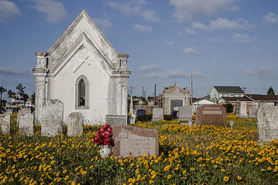 Photograph - Cemetery In Galveston Tx by John McGraw