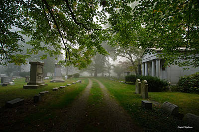 Photograph - Cemetery Path by Crystal Wightman