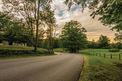 Photograph - Cemetery Road by Jeremy Farnsworth