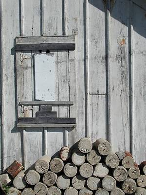 Cemetery Shed Art Print by Joseph Yarbrough