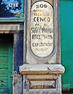 Photograph - Cenco Import Ltd.				 by Ethna Gillespie