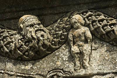 Roman Archaeology Photograph - Cenotaph, Glanum, France by John Shaw