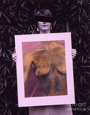 Censored Artist Art Print