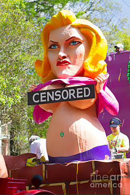 Photograph - Censored by Jerry Fornarotto