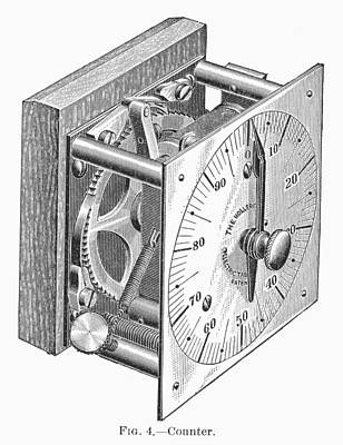 Photograph - Census Tabulator, 1890 by Granger