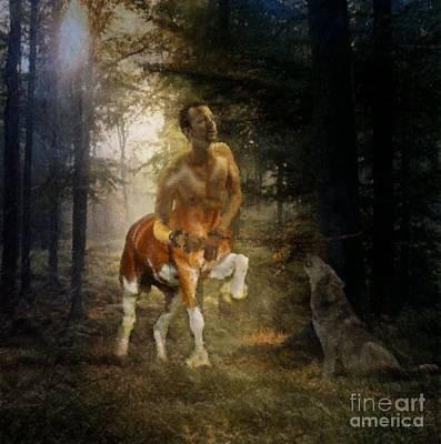 Centaur Digital Art - Centaur - Freedom Calls by KJ Bruce - Creatocity