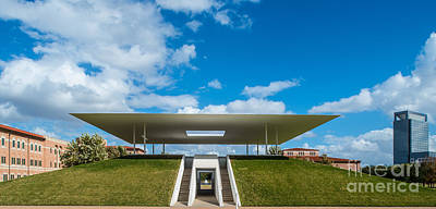 Universities Photograph - Centennial Pavilion Houston by Tod and Cynthia Grubbs