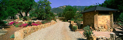 Entryway Photograph - Center For Earth Concerns, Ojai by Panoramic Images