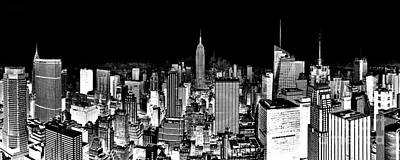 Empire State Photograph - Center Of The Universe by Az Jackson