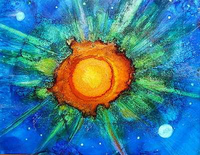 Painting - Center Of The Universe by Kelly Dallas