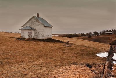 Photograph - Center School by Edward Peterson
