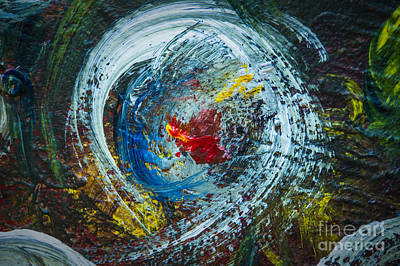 Impressionism Photos - Centered Heart by Terry Rowe