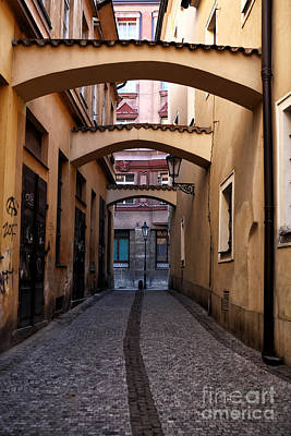 Prague Photograph - Centered In Prague by John Rizzuto