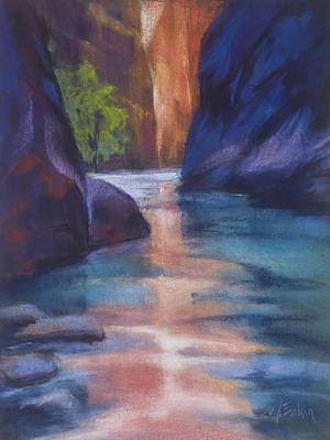 Painting - Centered by Marjie Eakin-Petty