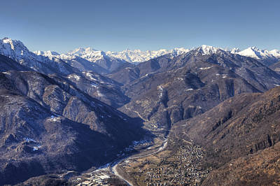 Mountain View Photograph - Centovalli by Joana Kruse